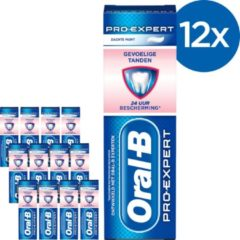Oral-B Oral B Pro-Expert Gevoelige Tanden & Whitening - Voordeelverpakking 12x75ml - Tandpasta