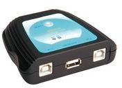 ROTRONIC-SECOMP AG ROTRONIC-SECOMP Manual USB 2.0 Switch - USB-Umschalter für die gemeinsame Nutzung von Peripheriegeräten - 2 x USB 14.99.5032