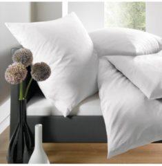 Uni Mako-Satin Bettwäsche Select blanc Schlafgut blanc
