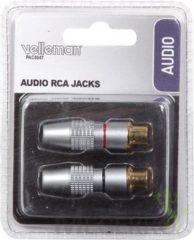 LegaMaster SET AUDIO RCA JACKS / PROFESSIONEEL