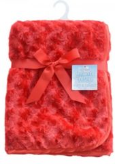 Softtouch Soft Touch luxe baby deken rood