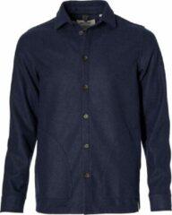 Blauwe Anerkjendt Heren Overhemd Maat M