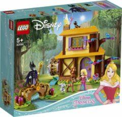 Gele LEGO Disney Princess Aurora's Boshut - 43188
