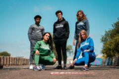 Legend Sports Joggingpak dames/heren met hoodie navy blauw S