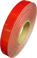 WRM Reflecterende tape rood 5 meter x 3 cm breed - fiets - aanhangwagen -paal