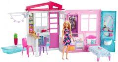 Mattel Barbie Huis Met Pop En Accessoires - Barbiehuis
