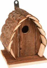 WorldPet Flamingo Nestkastje guido hout natuur 13x13x17cm