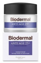 Biodermal Nachtcrème - Anti-Age 25+ - 50 ml