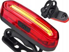 ABC-Led Fietslamp Wit - oplaadbaar - Extra helder