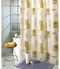 Coppens Douchegordijn textiel contrasti 180x200cm incl rin