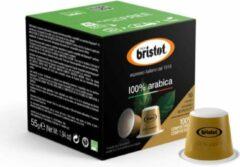 Bristot 100% Arabica Composteerbare Koffie Capsules (Nespesso© Compatible) - 10 x 10 stuks