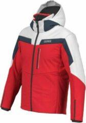 Blue Colmar - mens Insulated Jacket - rood-wit - wintersport jas - heren - maat 50