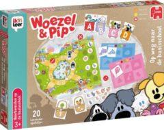 Jumbo Woezel & Pip Ik leer op weg naar de basisschool kinderspel