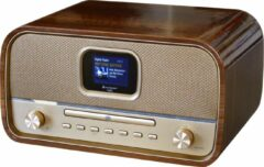 Gouden Soundmaster NMCDAB990GOLD Stereo DAB+ radio, CD speler, bluetooth, en USB