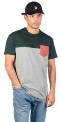 Zilveren Iriedaily Block Pocket T-Shirt grijs
