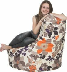 Loungiez Loungies Zitzak Stoel - Flower Herfst