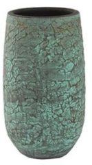 Hoge pot Evi antiq bronze ronde bloempot binnen 19 cm Plantenwinkel.nl
