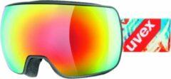 UVEX Compact FM goggles zwart/bont