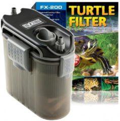 Zwarte Exo Terra Turtle Filter FX-200 Extern Filter