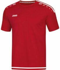 Jako Sportshirt - Maat 140 - Jongens - rood/wit