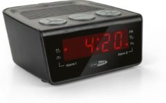 Caliber HCG014 - Wekker met FM radio - Zwart