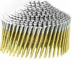 Everwin Draadgebonden Coilnagels   2,1 x 38 mm   Ring RVS bolkop conisch   2100 stuks