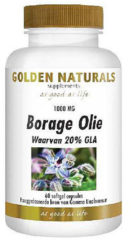 Golden Naturals Borage Olie Softgels 60st