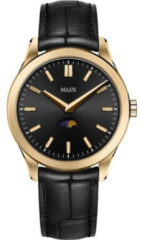 Maen Manhattan 40 Moon Jet Black Gold Brushed