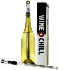 Roestvrijstalen False WINECHILL Original 2.0 Wijnkoeler - RVS koelstick-Aerator-Snel schenkend