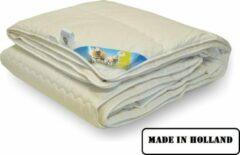 Creme witte Texels Comfort WoolMark Texel Comfort Enkel Princessdekbed - Litsjumeaux - 240x220 cm