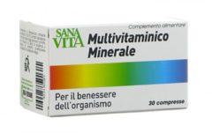 Sana vita multivitaminico minerale 30 compresse 30 cpr complemento alimentare PALADIN PHARMA