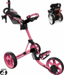 Roze Clicgear 4.0 Golftrolley 2019 - Soft Pink