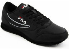 Fila Orbit Low 1010263-12V, Mannen, Zwart, Sneakers maat: 45 EU