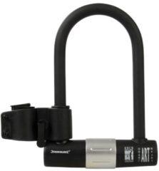 Zwarte Silverline Fiets beugelslot, hoge beveiliging 180 x 245 mm