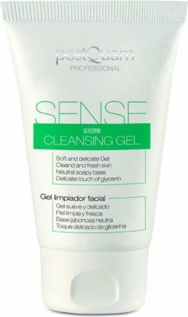 Afbeelding van GRATIS ZEEPJE Postquam professioneel cleanser en gezichtsreininger gel voor gevoelige en geïrriteerde huid types, verzacht en maakt schoon 150ml