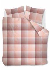 Beddinghouse Graham - Flanel - Dekbedovertrek - Eenpersoons - 140x200/220 cm + 1 kussensloop 60x70 cm - Coral