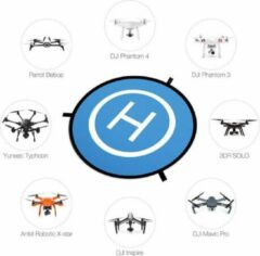Blauwe Fimport Landing Pad voor Drones - 55cm