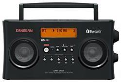 Afbeelding van Sangean DPR-26 BT DAB+ Transistorradio AUX, Bluetooth, DAB+, FM Accu laadfunctie Wit
