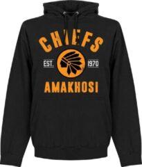 Retake Kaizer Chiefs Established Hooded Sweater - Zwart - S