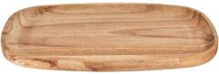 Naturelkleurige Xenos Presenteertray Acacia - 30x17.5x2 cm