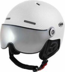 Witte OSBE Skihelm Aire Visor White Carbon Look 54-58 cm
