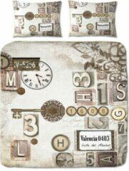 Suela Home Claire - Dekbedovertrek - tweepersoons - 200 x 200/220 cm - Multi