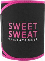 Sports Research Sweet Sweat Waist Trimmer - Waist Trainer - Afslankband - Waist Shaper - Sauna Belt Roze | Size: Small