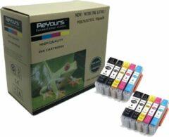 Cyane ReYours® 570 XL 571 XL - Compatible Inkcartridge voor Canon PGI 570 en CLI 571 - 10 PACK