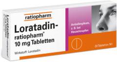 Loratadin Ratiopharm 10 mg Tabletten