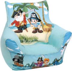Mini-Sitzsack Pirat Jack, blau