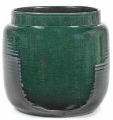 Serax Bloempot Groen-Donker groen D 32 cm H 28 cm