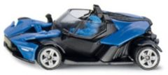 Blauwe SIKU Speelgoed | Miniature Vehicles - Ktm-X-Bow Gt