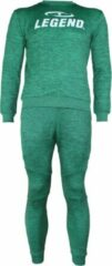 Groene Legend Sports Heren Sweater Maat EU110