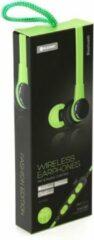 Platinet PM1061G mobiele hoofdtelefoon Stereofonisch In-ear Groen